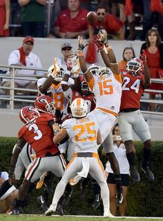 """Hail Mary Catch"" Tennessee beat Georgia in one of the most unforgettable ending in that game."