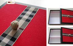 versatile box with adjustable division  caixa multi-usos feita à mão, com divisória ajustavel
