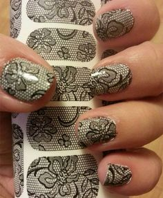 Nail Art Stickers Perfectly Guide to Apply Lace Step By Step