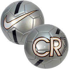 NIKE CR7 CRISTIANO RONALDO PRESTIGE 2015 SOCCER BALL SIZE 5 Silver/Black/White