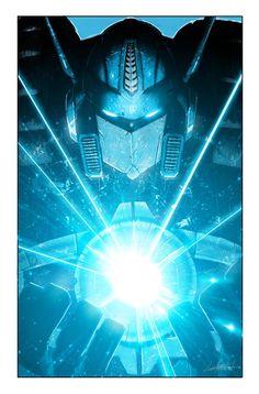 Optimus Prime by Livio Ramondelli. Also a really cool background