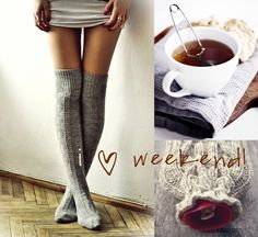 i ♡ weekend! - French By Design - love these socks!