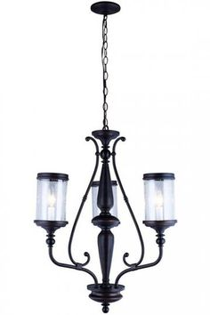 Estella 3-Light Chandelier - Chandeliers - Dining Room Chandelier - Entryway…