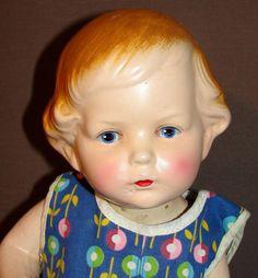 "Amberg Sue -  Body Twist ""IT"" Doll -  Rare American Composition Doll w/ wardrobe!"