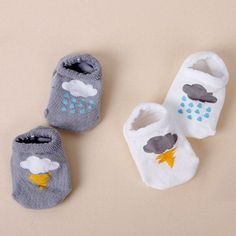 Cloudy Day Baby Socks  Soft and Comfortable Baby & Toddler Clothing!