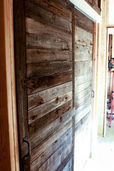Barn-style sliding doors