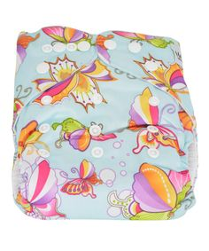 Another great find on #zulily! MG Baby Blue Butterfly Pocket Diaper #zulilyfinds
