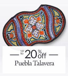 Rustic Furniture, Mexican Furniture, Talavera Tile, Folk Art Talavera Pottery, Slab Pottery, Mexican Furniture, Rustic Furniture, Art Deco Posters, Mexican Folk Art, Whimsical Art, Furniture Collection, Handmade Art