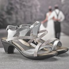 See which shoes you won't want to kick off on the big day. Link in bio! Bridal Shoes, Wedding Shoes, Comfy Heels, Naot Shoes, Wedding Season, Footwear, Wedding Ideas, Fancy, Pairs