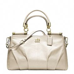 New at Coach, Madison Leather Carrie