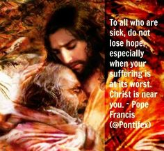 Suffering With Christ Jesus. Catholic Religion, Catholic Quotes, Pope Francis Quotes, Year Of Mercy, Learning To Pray, Divine Mercy, Pope John, Jesus Pictures, Prayer Book