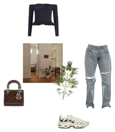 """""""hi"""" by sahm-bahm ❤ liked on Polyvore featuring River Island, Christian Dior and Pier 1 Imports"""