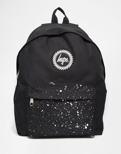 Hype Backpack with Contrast Speckled Pocket