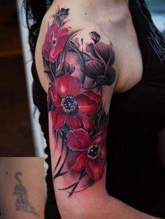 Frauen Tattoos Designs für Deckung vor und nach-57