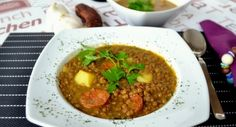 Yummy and easy lentils recipe with chorizo and potatoes, learn how to cook this traditional Spanish food dish