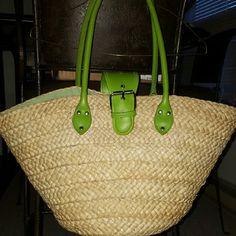 Woven summer time purse Fun summer time bag. Bags Shoulder Bags