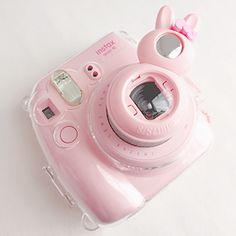 NariBear Pink Camera, Mini 8 Camera, Cute Camera, Fujifilm Instax Mini, Instax Mini 8 Pink, Pastel Colors, Pastel Pink, Instax Accessories, Pink Aesthetic