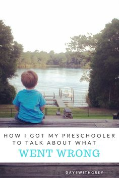 How to talk to your preschooler when you need more information about what happened. These five simple steps are your solution! Such a simple solution! Parenting Issues, Parenting Articles, Parenting Hacks, Happy Parents, Happy Kids, Advice For New Moms, Practical Parenting, Toddler Behavior, Parenting Toddlers