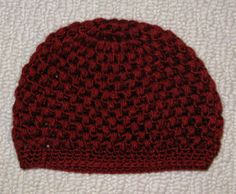 Small Puff Hat -- You can give away items made from my patterns, but if you want to sell them online you need to state that the pattern is free and available here. This means that every single listing for any item made with my pattern must state that the pattern you used is free and you must also post a link to it. I'm not trying to be mean, I just want the most people possible to have access to free patterns.