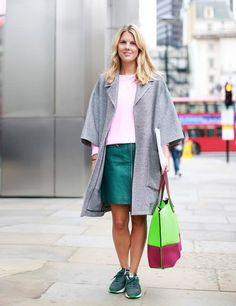 LFW Street Style   ELLE UK