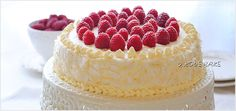 Butter Cake - Coconut with raspberries Vanilla Cake, Raspberry, Cheesecake, Coconut Cakes, Cooking Recipes, Sweets, Decorating, Food, Decor