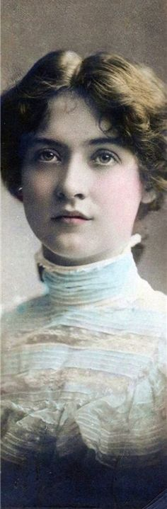Lovely Victorian Lady - Hand tinted sepia photo