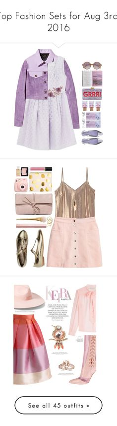 """Top Fashion Sets for Aug 3rd, 2016"" by polyvore ❤ liked on Polyvore featuring Elizabeth and James, Burberry, Pierre Darré, Jessica Choay, Edie Parker, pastels, cuteoutfit, Toast, LULUS and NARS Cosmetics"