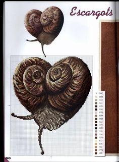 Сердца - схемы для вышивки крестом.  Heart - schemes for cross stitch
