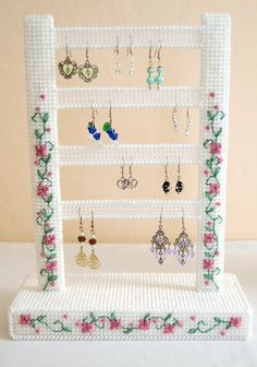 Yarn Crafts Acne: What It Is And How To Fight It Keywords: acne Article Body: Acne is basically a bl Plastic Canvas Coasters, Plastic Canvas Crafts, Plastic Canvas Patterns, Diy Earring Holder, Vintage Jewelry Crafts, Dmc Embroidery Floss, Butterfly Crafts, Red Heart Yarn, Diy Canvas