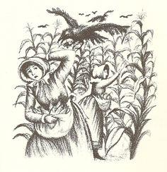 Little House on the Prairie (illustrator Garth Williams) Wilder Book, Garth Williams, Children's Book Illustration, Book Illustrations, Laura Ingalls Wilder, Vintage Children's Books, Life Is An Adventure, Cute Crafts, Colouring Pages
