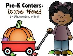 Pre-K Packet October Themed