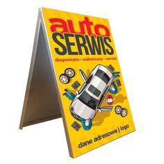 Potykacz / Stojak ReklamowyGotowa 2-stronna grafika reklamowa w cenie potykacza!Potykacz dla Twojego biznesu:Motoryzacja. Żywe kolory i przyciągająca uwagęgrafika - to atuty Twojego sukcesu grafika może być umieszczona także na bokach potykacza iloś