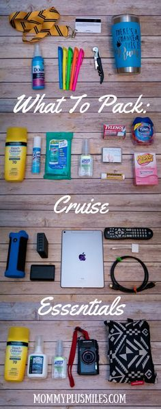 What to Pack: Cruise