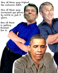 17 trillion national debit, sky high gas prices and complete collapse of economy, republicans built that.