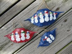 Items similar to Personalized Hand Painted Crab Shell Ornaments on Etsy Seashell Art, Seashell Crafts, Beach Crafts, Crab Shells, Oyster Shells, Ornament Crafts, Diy Ornaments, Crab Crafts, Shell Decorations