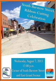 DECI is hosting a ribbon cutting on Aug. 7, the day after construction will be completed!
