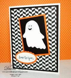 Stampin' Up! Halloween Card - Fall Fest Bundle - Late Night Stamper Treasure Hunt Blog hop