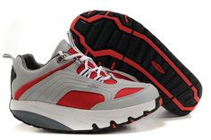 MBT Chapa Shoes In Red