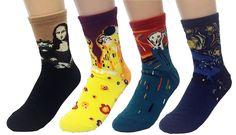 Art Masterpiece Painting Collection Socks Set