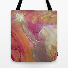 The Lightbearer's Gift Tote Bag by LILY NAVA GALLERY - $22.00