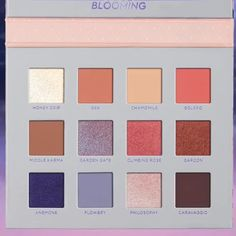 @nablacosmetics Soul Blooming Collection that includes:  New Eyeshadow Palette