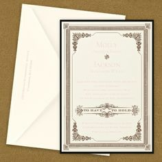 Southern Twilight Layered Invitation | KSW Exclusive Invitations