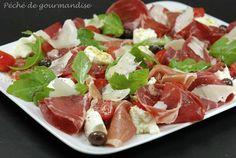 Assiette à l'italienne - Péché de gourmandise
