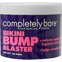 Completely Bare - Bikini Bump Blaster Pads in  #ultabeauty. Prevent ingrown hairs by exfoliating the area. Evens out skin and prevents buildup of bacteria.