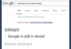 And finally, when Google just couldn't move on.