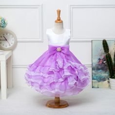 $47.10 (Buy here: https://alitems.com/g/1e8d114494ebda23ff8b16525dc3e8/?i=5&ulp=https%3A%2F%2Fwww.aliexpress.com%2Fitem%2FWedding-Gowns-Kids-Formal-Party-Bow-Bridesmaid-Christening-Dresses-Pageant-Princess-Dresses-for-Little-Girls-2%2F32616889044.html ) Wedding Gowns Kids Formal Party Bow Bridesmaid Christening Dresses Pageant Princess Dresses for Little Girls 2-7 Years for just $47.10