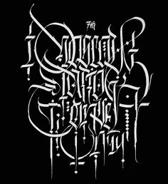 An Awesome Calligraphy Collection by Pokras Lampas