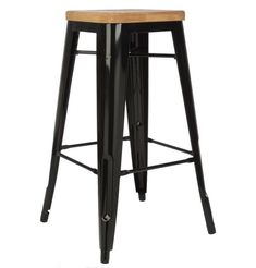 In the midst of their crime heyday in the delinquent duo Bonnie and Clyde spent their spare time chilling on a Xavier Pauchard Tolix Stool with a Leather Bar Stools, Metal Bar Stools, Counter Bar Stools, Kitchen Stools, Banco Vintage, Vintage Stool, Bar Stool Seats, Bench Stool, High Stool