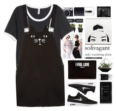"""Untitled #2066"" by tacoxcat ❤ liked on Polyvore featuring Topshop, Cleanse by Lauren Napier, H&M, NIKE, Givenchy, ROOM COPENHAGEN, GANT, Sephora Collection and NARS Cosmetics"
