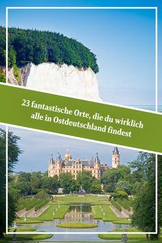 23 fantastische #Reiseziele, die du wirklich alle in #Ostdeutschland findest Desktop Screenshot, Road Trip, Travel Ideas, Summer, Holidays, Wonderful Places, Beautiful Places, Travel Advice, Traveling